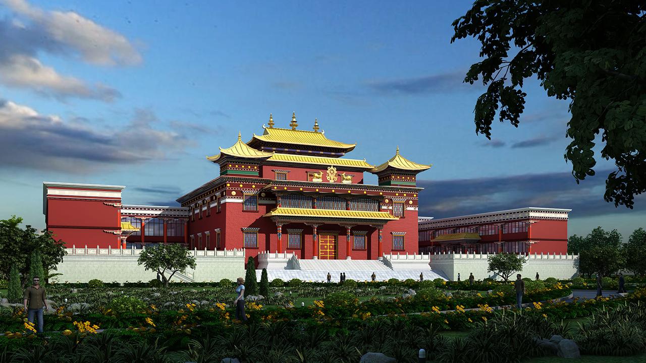 歇武多干寺佛學院